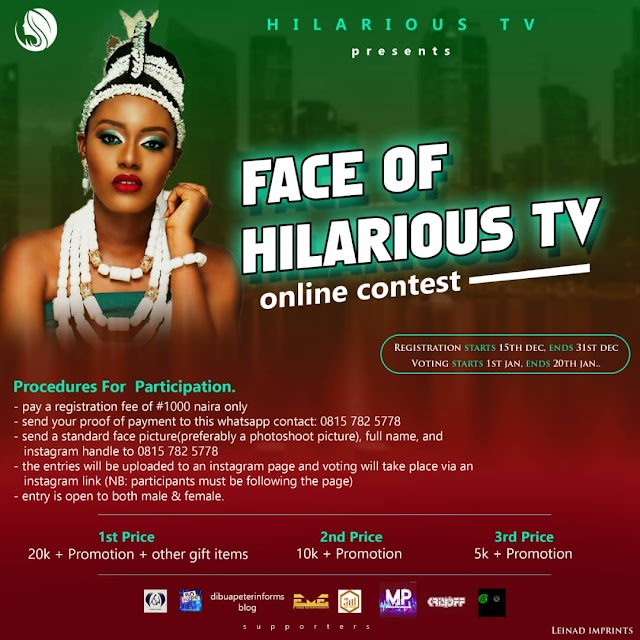 FACE OF HILARIOUS TV