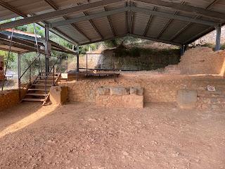 Varignano Roman Villa - area for pressing olive oil