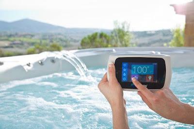 Wireless Hot Tub Control