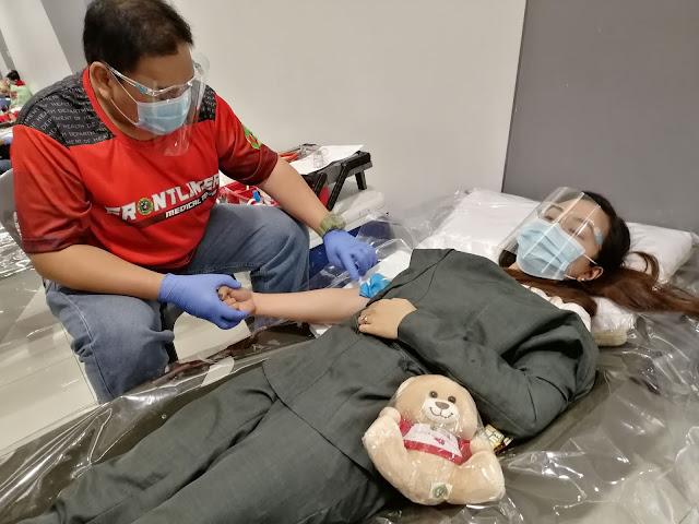 SM CITY SAN JOSE DEL MONTE BLOOD DONATION DRIVE