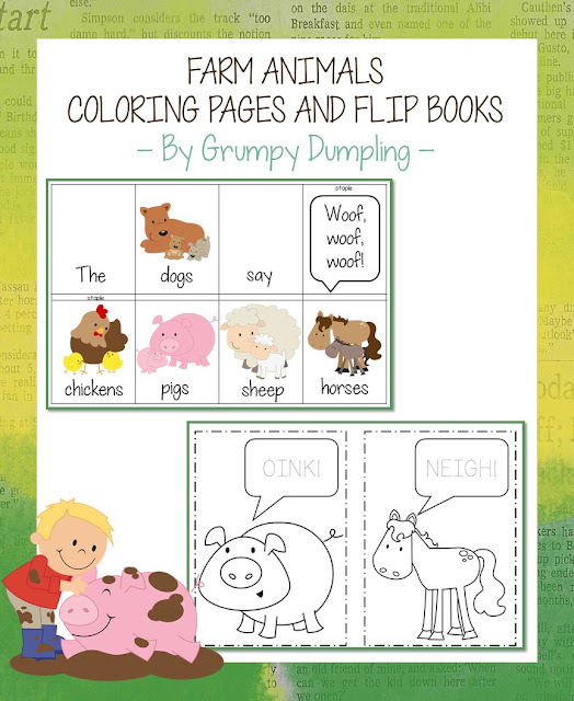 https://www.teacherspayteachers.com/Product/Farm-Animals-Flip-Books-and-Coloring-Pages-2053636