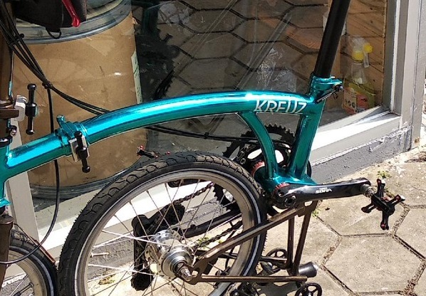 Mengenal Sepeda Kreuz, 'Brompton' Made in Bandung yang Sedang Naik Daun