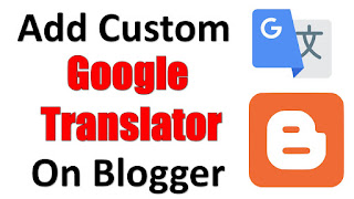 How to add Custom Google Translate Width On Website