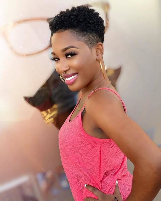 Pretty Short Natural Hairstyles for Black Women