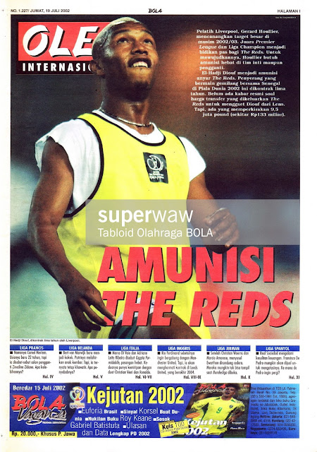 OLE! INTERNASIONAL: AMUNISI THE REDS