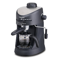 Morphy Richards With the Europa Espresso Cappuccino coffee maker