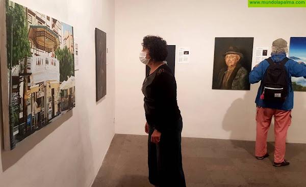 Amigos Pintores de Las Breñas presenta en la Casa Salazar 'Los maestros visitan La Palma'