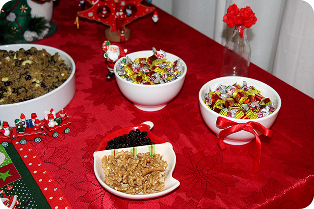 Decoração da Mesa : Festa de Natal : Delícias