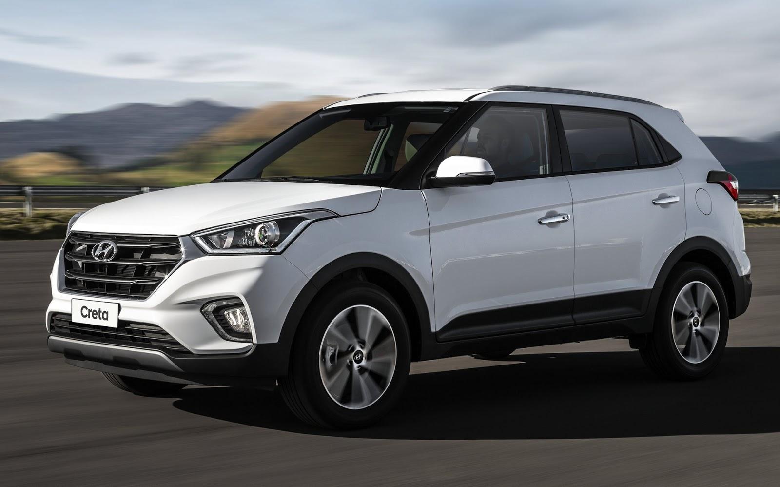 Hyundai Creta 2021 - 3º carro mais vendido do Brasil em maio