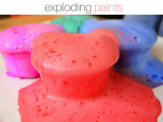 Got Bored Kids? 17 Practical Mom Ideas to try right away! Exploding Paints