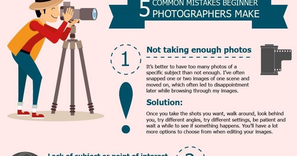 5 Common Mistake Professional photographer should avoid