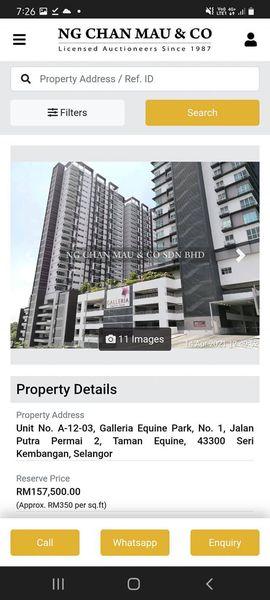 Galleria Equine Park Harga Asal RM270 Ribu sekarang jadi RM157 Ribu