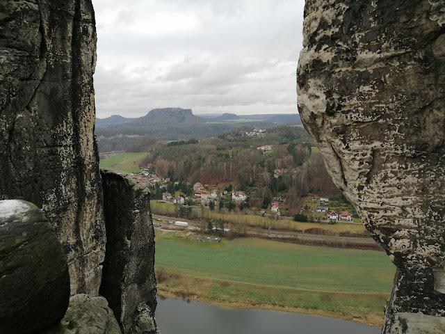 Ausblicke in der Sächsischen Schweiz