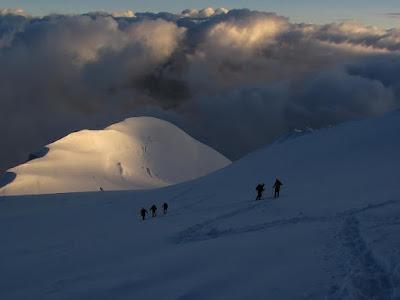 Mont Blanc droga klasyczna