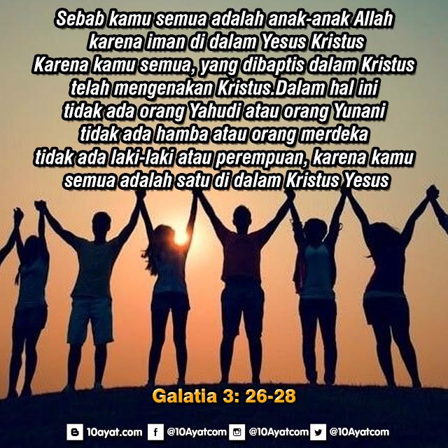 Galatia 3: 26-28