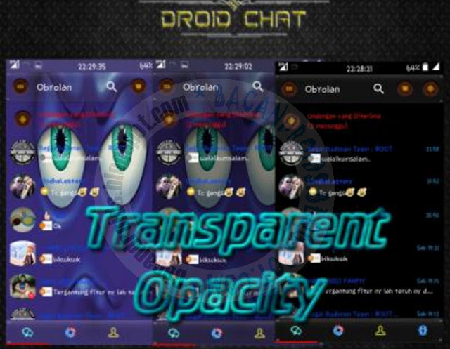 download BBM2 Mod Droidchat Tema Transparent Opacity Apk V2.13.1.14