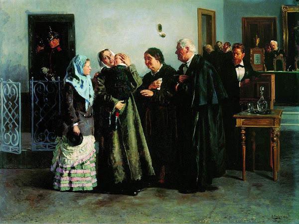 Маковский Владимир Егорович - Оправданная. 1882