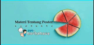 Materi tentang poster