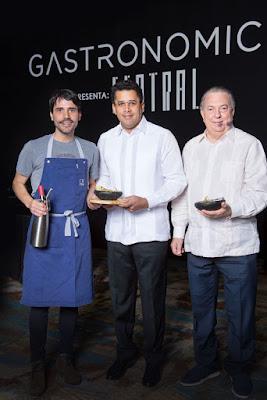 Virgilio Martínez, David Collado y Eduardo Selman