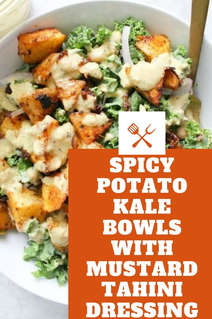 SPICY POTATO KALE BOWLS WITH MUSTARD TAHINI DRESSING #healthyrecipeseasy #healthyrecipesdinnercleaneating #healthyrecipesdinner #healthyrecipesforpickyeaters #healthyrecipesvegetarian #HealthyRecipes #HealthyRecipes #recipehealthy #HealthyRecipes #HealthyRecipes&Tips #HealthyRecipesGroup  #food #foodphotography #foodrecipes #foodpackaging #foodtumblr #FoodLovinFamily #TheFoodTasters #FoodStorageOrganizer #FoodEnvy #FoodandFancies #drinks #drinkphotography #drinkrecipes #drinkpackaging #drinkaesthetic #DrinkCraftBeer #Drinkteaandread