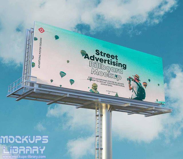 advertising billboard mockups