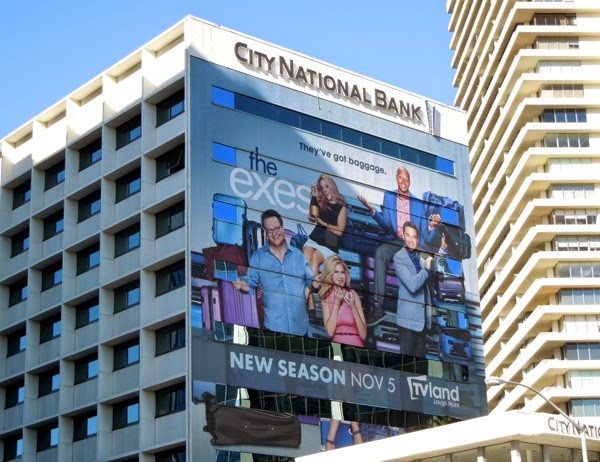 The Exes giant season 4 billboard