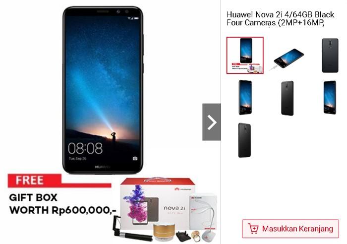 Huawei Nova 2i di Shopee