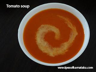 Tomato soup recipe in Kannada