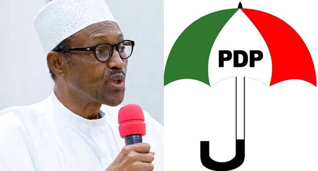 PDP Asks NASS To Investigate N26.7tn, $322m, N500bn Allegedly Looted By Buhari's Administration