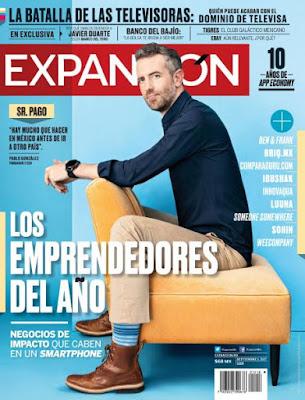 Revista Expansión México 1 Septiembre 2017