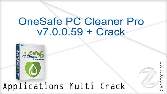 OneSafe PC Cleaner Pro v7.0.0.59 + Crack