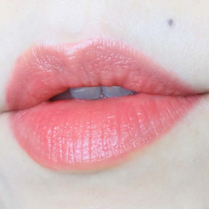 Chanel Rouge Allure Laque 64 Exigence swatch