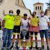 Ciclista santuareño se destacó en Italia