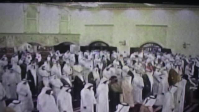 Pemakaman Almarhum  Syaikh Al Sabah Berlangsung Sederhana