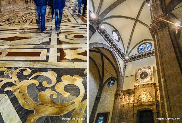 Interior da Catedral de Florença