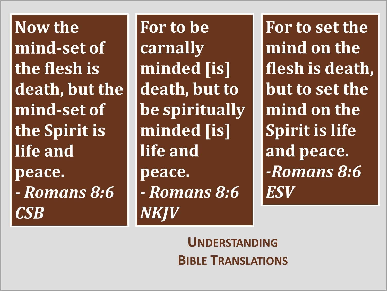 Understanding Bible Translations | His Excellent Word