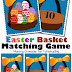 Free Easter Basket Matching Game