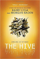 The Hive by Lyga & Baden, book cover and review