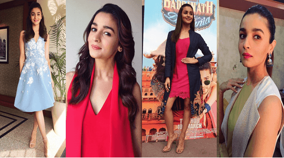 Looks of alia bhatt