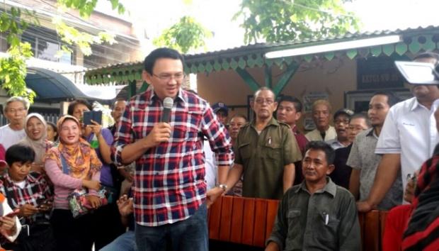 Rahasiakan Agenda Kampanye, Ahok Mengaku Tiru Gaya Jokowi