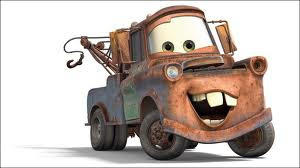 Mater from Cars movie