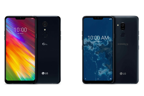 IFA 2018: LG G7 Fit and LG G7 One (First Android One smartphone from LG) announced