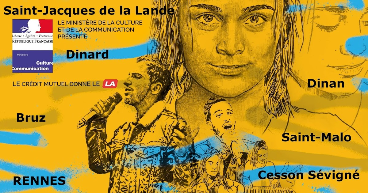 Rennes VilleRock Fête de la musique 2016  Région de  ~ Le Petit Bois St Malo