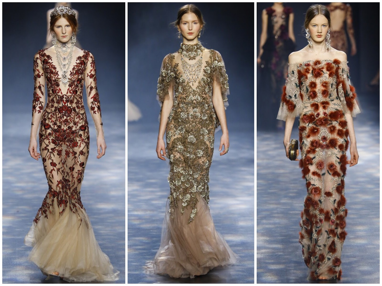 marchesa fw'16-17 new york fashion week