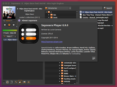 Install Sayonara 0 9 0 (Music Player) on Linux Mint / Ubuntu