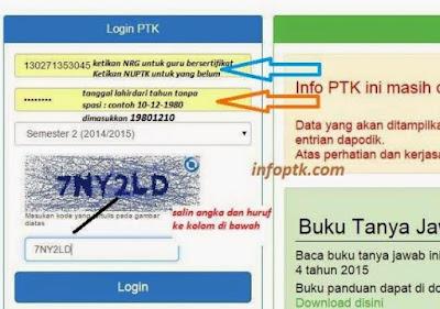 Cek Info GTK / PTK Terbaru Semester 2 Tahun 2017