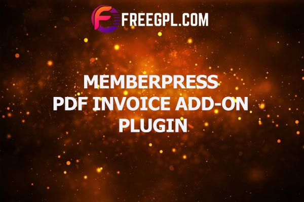 MemberPress PDF Invoice Add-on Nulled Download Free