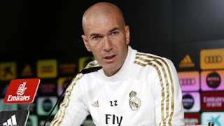 Zidane warns Real Madrid players after Barcelona draw against Atletico Madrid