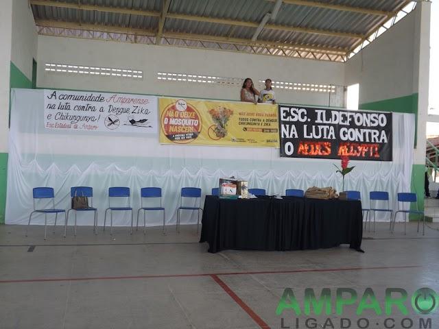 Palestra realizada dentro da programação de Mobilização contra epidemias em Amparo