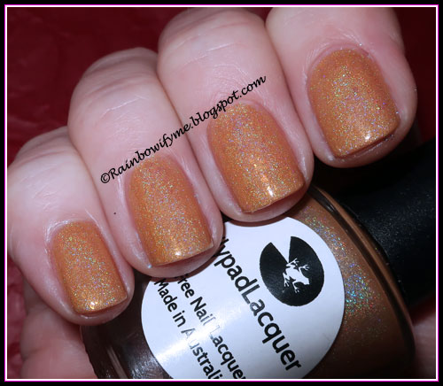 Lilypad Lacquer: Chip Off The Old Hollyhock, Faded!
